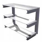 3 Tier Cantilever