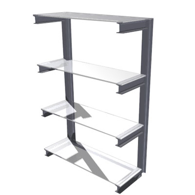 4 Tier Cantilever