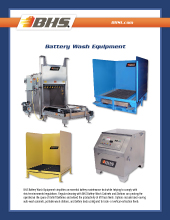 PL-2400 Battery Wash Equipment