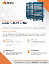PL-7000 High Value Cart
