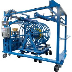 Spool Winding Trolley - Industrial Internet of Things (SWT-IIoT)