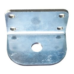 Galvanized Cable Retractor Mounting Bracket