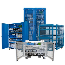PPE Storage Cart (HVC-PPE)