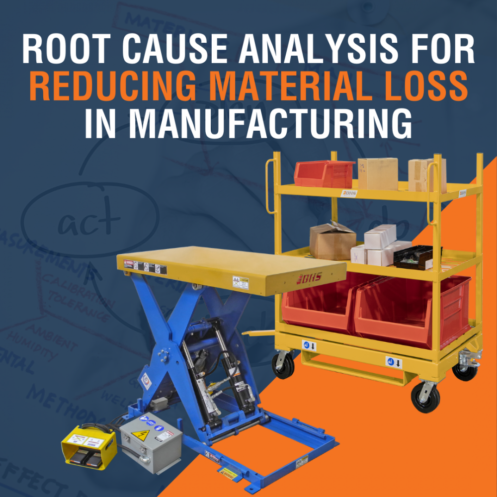Root Cause Analysis for Reducing Material Loss in Manufacturing